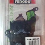 Bremžu kluči aizmugurējie KTM motociklam FERODO FDB2165EF