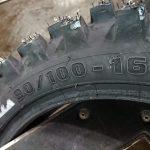 Ziemas motokrosa riepa ar radzēm Mitas Winter Friction C-20 90/100-16. Cena 105.00 Eur