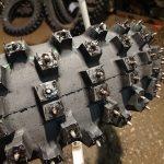 Ziemas motokrosa riepa ar radzēm Mitas 110/90-19 C18, aizmugurējā. Cena 142.00 Eur