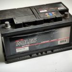 Akumulators 80AH MILES 740A 12V