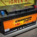 Akumulators 100AH 750A Champion Power 12V