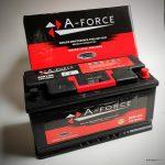 Akumulators 100AH A-Force 750A 12V