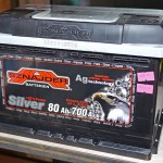 Akumulators 80Ah Sznajder 700A 12V