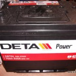 Akumulators 70Ah Deta Power 540A 12V augstais
