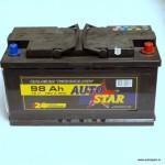 Akumulators 98Ah Autostar 720A 12V