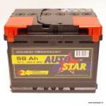 Akumulators 58Ah Autostar 420A 12V