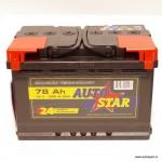 Akumulators 78Ah Autostar 680A 12V