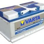Akumulators 80Ah Varta Blue 740A 12V zemais