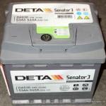 Akumulators 53Ah Deta Senator 3 540A 12V
