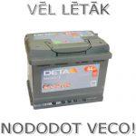 Akumulators 64Ah Deta Senator 3 640A 12V