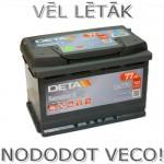 Akumulators 77Ah Deta Senator 3 760A 12V