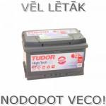 Akumulators 72Ah Tudor High Tech 720A 12V zemais