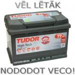 Akumulators 77Ah Tudor High Tech 760A 12V