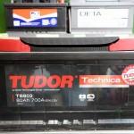 Akumulators 80Ah Tudor Technica 700A 12V zemais