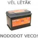 Auto akumulators 74Ah Deta Power 680A 12V