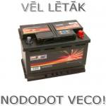 Akumulators 74Ah Wertteile 680A 12V