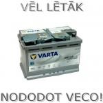 Akumulators 70Ah Varta Silver Dynamic AGM 760A 12V