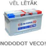 Akumulators 100Ah Bi-Force 850A 12V