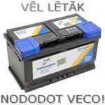 Akumulators 80Ah Cartechnic 740A 12V zemais