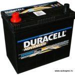 Akumulators 45Ah Duracell Advanced 12V kreisais pluss, augstais