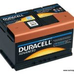 Akumulators 72Ah Duracell Advanced 660A 12V zemais
