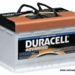 Akumulators 74Ah Duracell Advanced 680A 12V