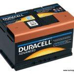 Akumulators 80Ah Duracell Advanced 700A 12V zemais