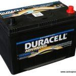 Akumulators 95Ah Duracell Advanced 720A 12V augstais