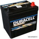 Akumulators 60Ah Duracell Advanced 480A 12V augstais