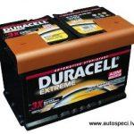 Akumulators 70Ah Duracell Extreme AGM 720A 12V