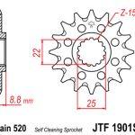 Moto rezerves daļas KTM SX250