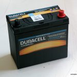Akumulators 45AH Duracell 390A 12V