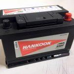 Akumulators 72AH Hankook 640A 12V