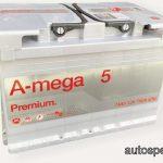 Akumulators 74AH A-Mega 5 Premium 760A 12V