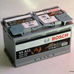 Akumulators 80AH Bosch AGM 800A 12V