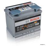 Akumulators 60AH Bosch AGM 680A 12V S5A05