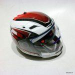 Moto ķivere ar noņemamo žokli Ispido Arsen. Cena 72.00 Eur
