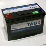Akumulators 95Ah TAB Polar 850A 12V Asia Revers
