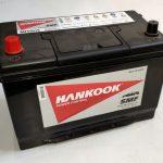 Akumulators 95AH Hankook 720A 12V REVERSS
