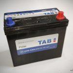 Akumulators 55AH TAB Polar 540A 12V