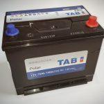 Akumulators 75AH TAB Polar 740A 12V
