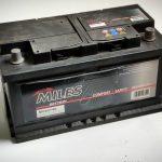 Akumulators 80AH MILES 740A 12V