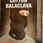 Moto ķiveres kokvilnas BALAKLAVA (sejas maska, zeķe)