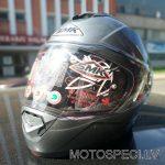 Moto ķivere ar paceļamu žokli SMK GLIDE. Cena 101.00 Eur