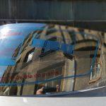 Ķiveres aizsargstikls (Visor) ISPIDO PULSE spoguļstikls. Cena 15.00 Eur.