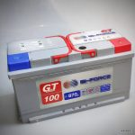Akumulators 100AH Bi-Force 870A 12V