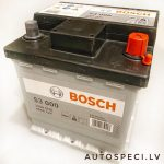 Akumulators 40AH Bosch 340A 12V