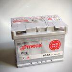 Akumulators 65AH A-MEGA EFB 650A 12V