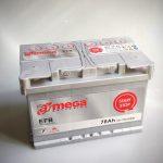 Akumulators 78AH A-MEGA EFB 790A 12V