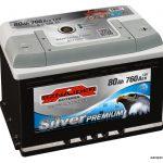 Akumulators 80Ah Sznajder Silver Premium 760A 12V